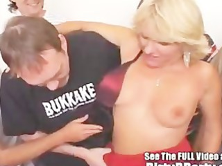 jackie 2 gap creampie bukkake bang with dirty d