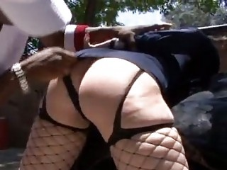 sexy milf doxy in hawt police woman uniform