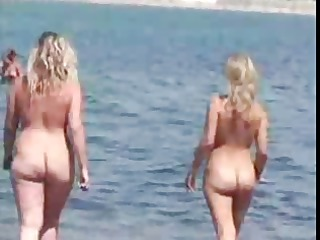 nudist beach perv 1 chubby large tits mother i