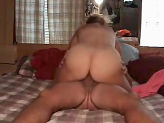 wife enjoys fucking on top during the time that