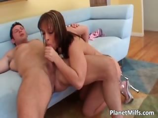 horny tattooed redhead milf acquires her part3