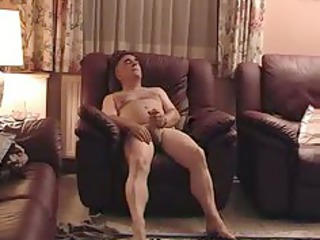 aged exhibitionist male