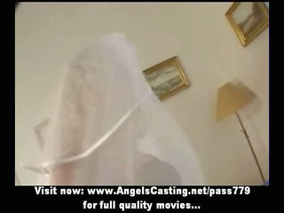 hawt blonde mother i as bride does oral pleasure
