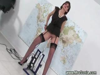 sex machine bangs mature brit