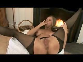 aged mamma nylons & hard sexy nipples