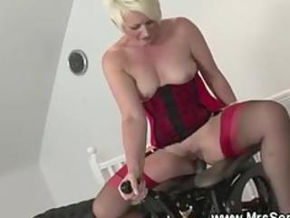 older plays with sex machine