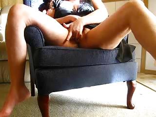 lustful wife masturbates on webcam