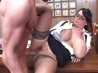 mature teacher with biggest boobs