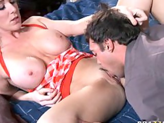 big tit mommy mother i in nylons finds her son