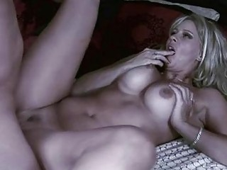 handsome blond milf with big milk sacks acquires