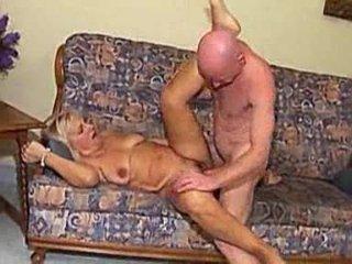 granny screwed by bald man