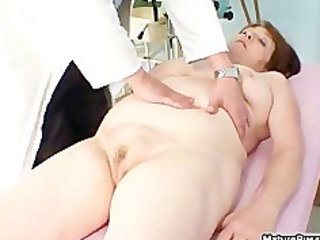 fat old older mamma gets her pink