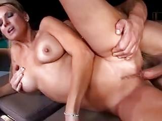 breasty golden-haired pornstar milf sucks hard