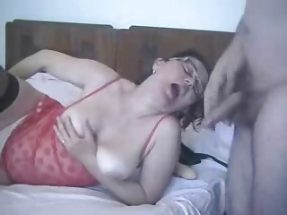 my aged wife is truly a whore ! non-professional