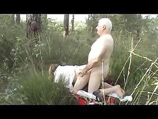outdoor butt fuck