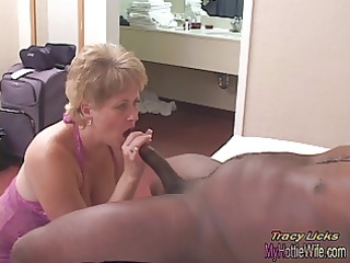tracy licks.....takes mrnuttzs 4 inch, big, black