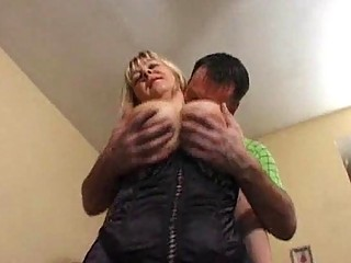 busty mature model in hose gets screwed hardcore