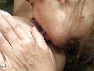 hot playgirl bonks naughty mature lesbian mother