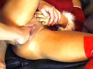 fisting her loose muff
