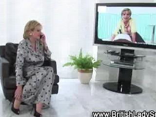 horny older brit in nylons