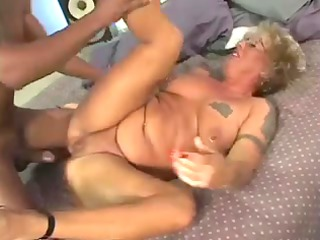 blond granny getting her st large darksome