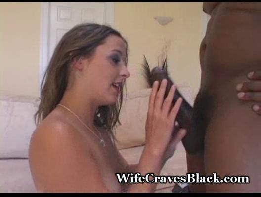 wifey takes thick black pounder
