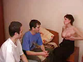 pregnant brunette hair mother i acquires fucked