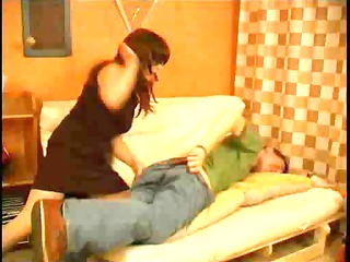 d like to fuck punishes her sons ally for not