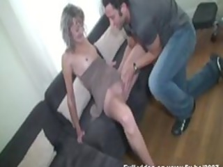 evy double penetrated, her husband watching