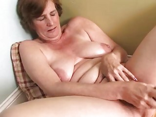 lewd housewife aged masturbation