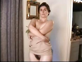 captivating hirsute mature undresses for