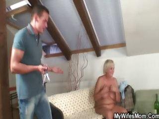 lascivious granny seduces her son in law