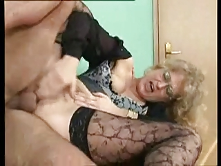 sexy german mother i gets anally screwed