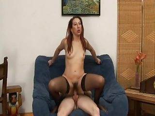 hairy anal d like to fuck in stockings gaping