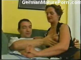 german granny fucking youthful guy