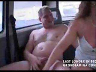 older non-professional wife sucks and fucks in a
