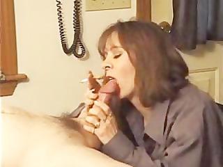 talon steele giving her hubby a smokey bj