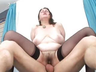 lad fuck hairy mature maid