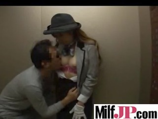 japanese milfs receives group-fucked indeed hard