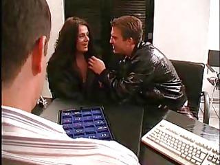 german pair getting their nipples pierced