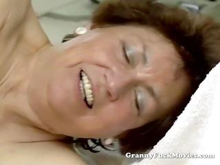 juvenile boy fucking corpulent unshaved granny