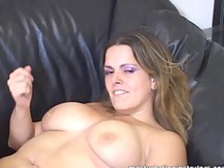 masturbation teacher flaunts her large boobs to