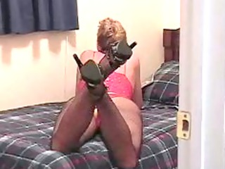 slut wife masterbating whilst looking at impure