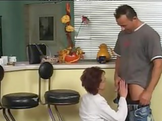 slim in nylons and glasses bonks aged older porn