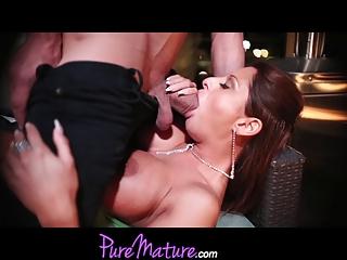 puremature seductive mom alison star gets