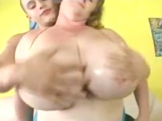 large tit milf meets and copulates youthful chap