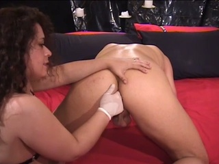 wicked milf brunette hair fucking hunk with dong