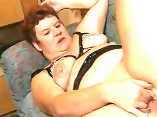 obese older german lady enjoys a hard cock dbm