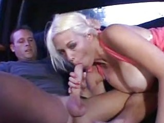 tanned blond d like to fuck vagina fucked in car