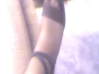 my wifes stockings 54